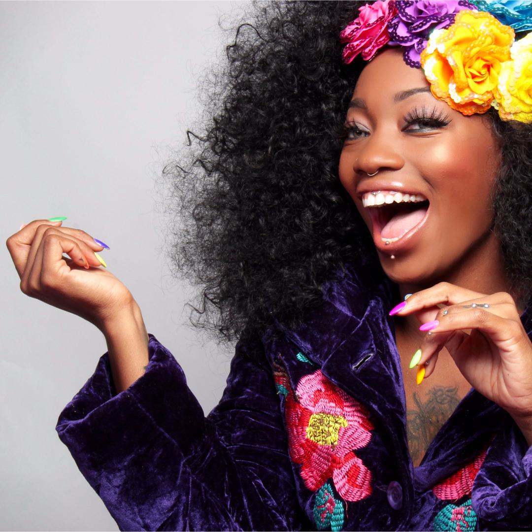Happy Flower Princess